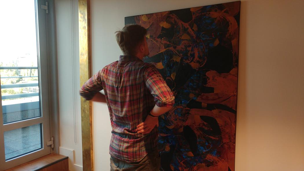 Vidal Toreyo contemporary abstract painter