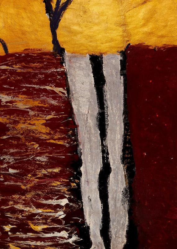 Ivo Alvarone romantic abstract landscape painter