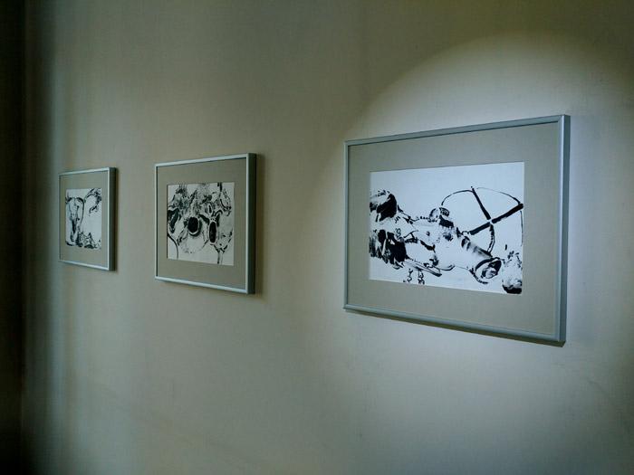 Eva Davis abstract colour drawing