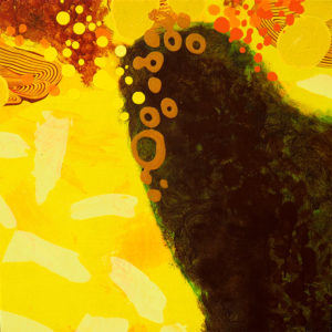 Alana Kepili abstraction painting