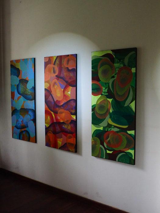 Jan Astner Postpainterly painting