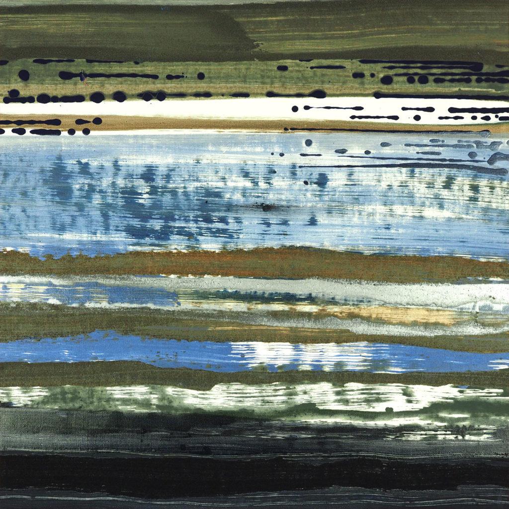 Bartos Saro landscape matter painting