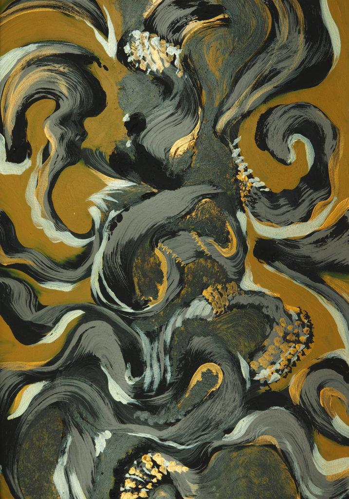 Ana Ksamit - abstract painitngs