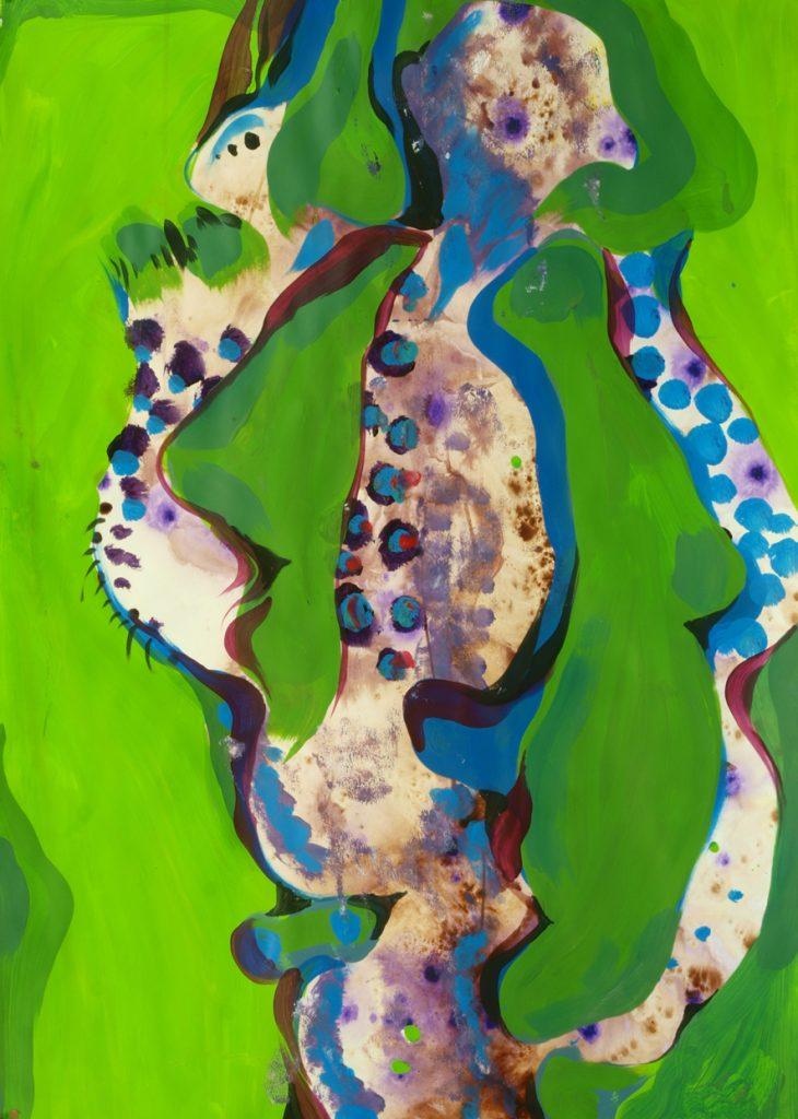 Vidal Toreyo lyrical abstraction painting
