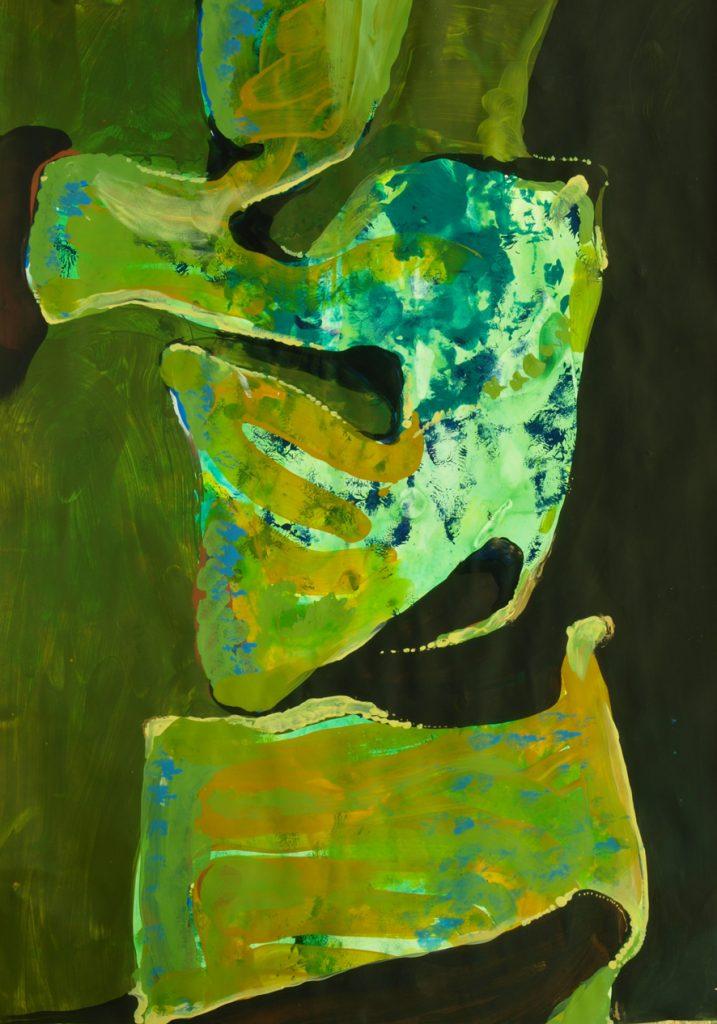 Vidal Toreyo man in painting