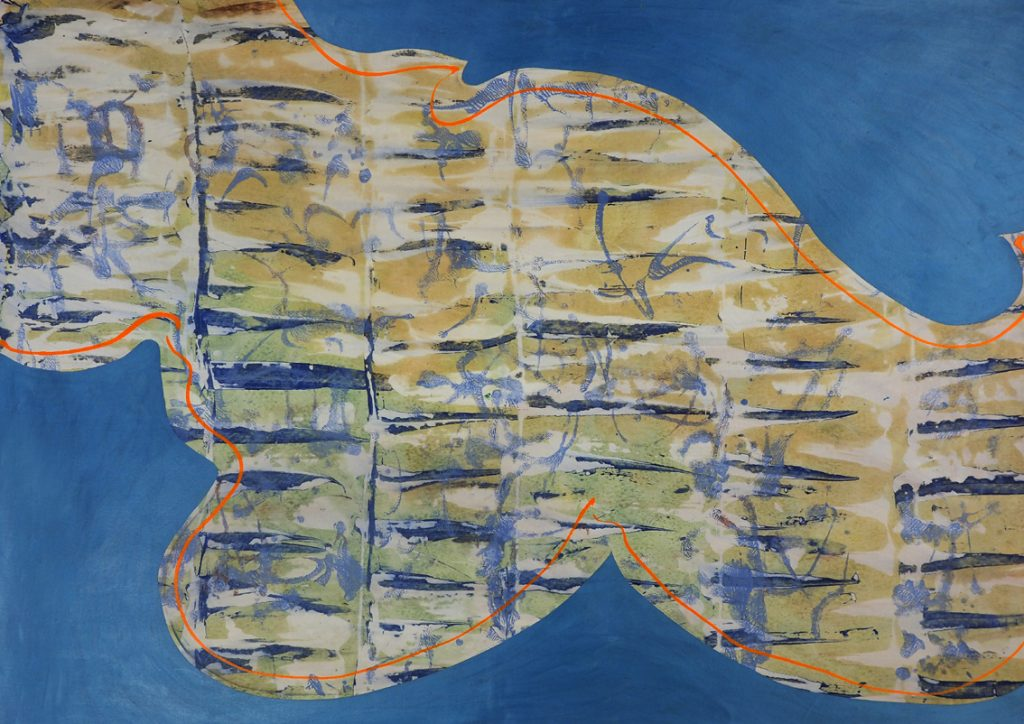 Jan Astner abstraction painting