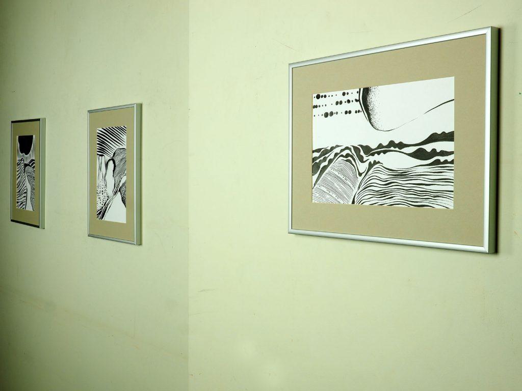 Blacka nad white drawings