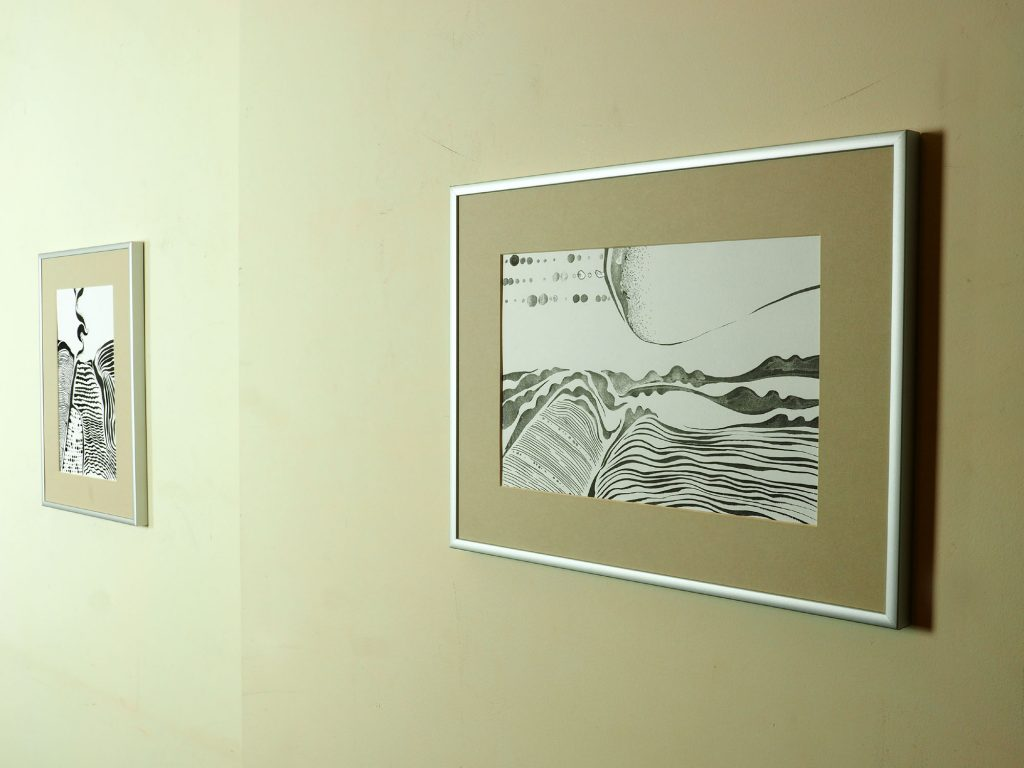 Exhibition of drawings