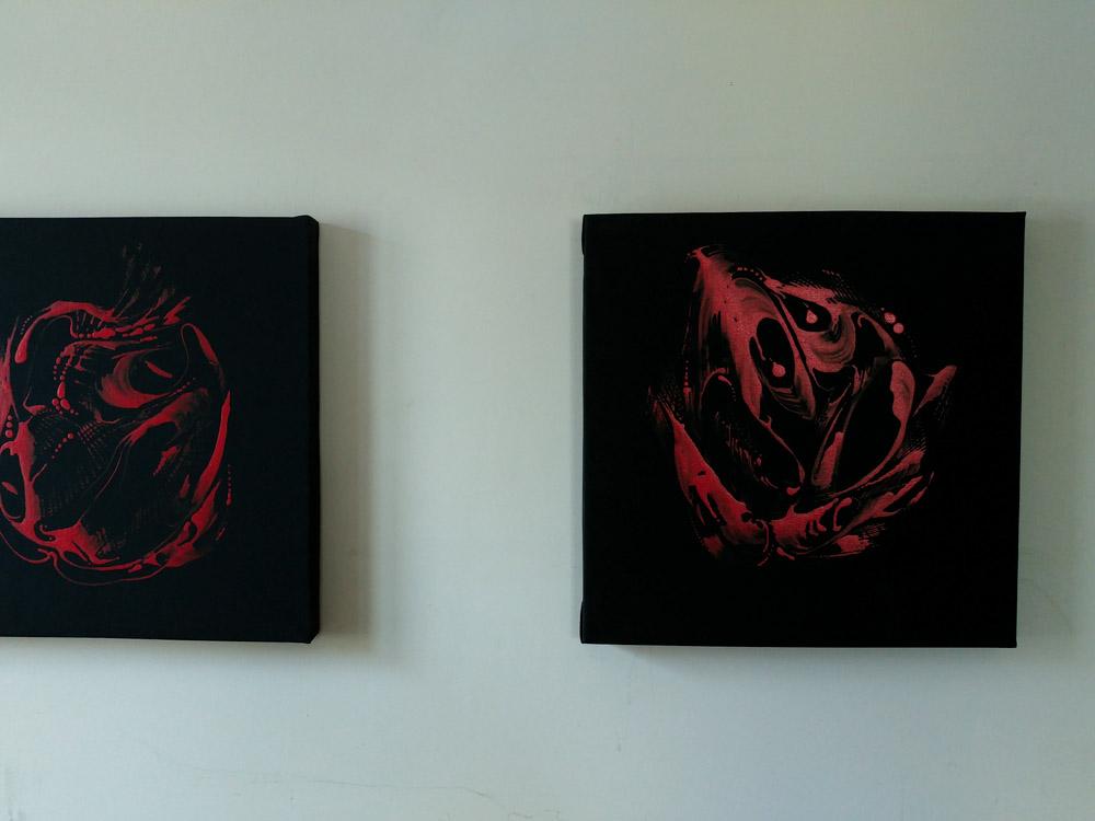 Jan Astner presentation of artworks