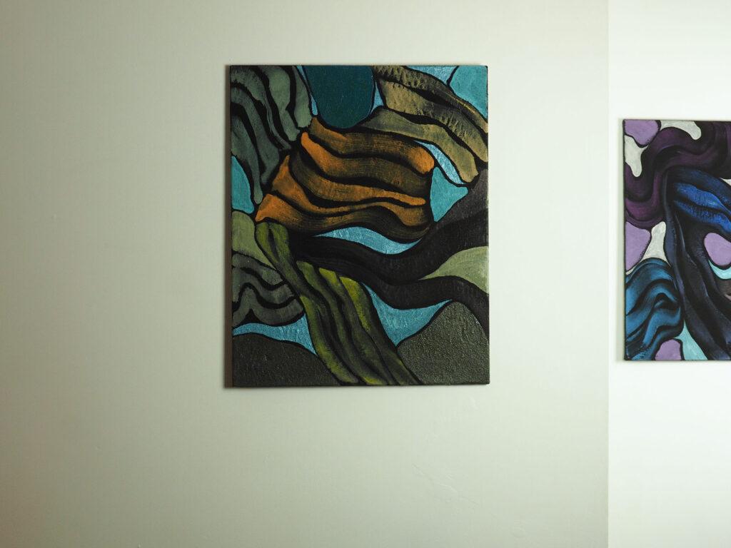 Bartos Saro painting exhibition